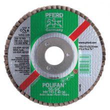 Pferd 62272 7 X 5/8-11 Polifan Sg Alu Ox Flat 80G (1 EA)