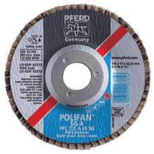 Pferd 62243 4-1/2 X 5/8-11 Polifan Sg A-Cool Conical 80G (1 EA)