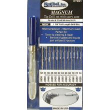 King Tool KTD01 Ki Ktd01 Magnum Tip Drill Set