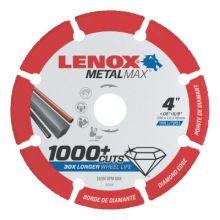 "Lenox 1972920 Lenox Diam Cutoff Wh Ag4"" X 5/8""  Angle Grinder (1 EA)"