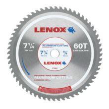 "Lenox 21882AL714060CT 7-1/4"" 60T Aluminum Metal Cutting Saw Blade"
