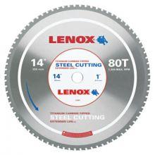 "Lenox 21891ST140080CT 14"" 80T Steel Metal Cutting Saw Blade"
