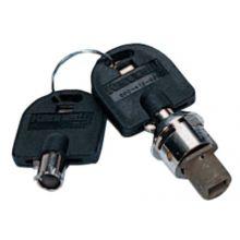 Kennedy 80403-200 Key# 200 Tubulr  Hi-Secur Lock/Key Set No Cam