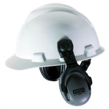 Msa 10061272 Cap Mount Ear Muffs Forslotted Caps Hpe Style