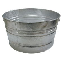 Magnolia Brush 3 73.97-Qt. Galvanized Tub (1 EA)
