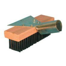 "Magnolia Brush 5-SC-7 7"" Round Carbon St Wirescraper (12 EA)"