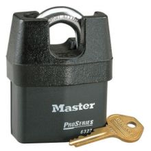 Master Lock 6327 5 Pin High Security Padlock Keyed Different