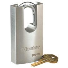 Master Lock 7045 5 Pin Solid Steel Padlock Keyed Diffe (1 EA)