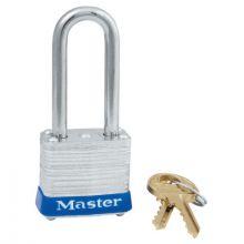 "Master Lock 7LFKD 4 Pin Tumbler Padlock S/1-1/2"" Long Shackl (1 EA)"