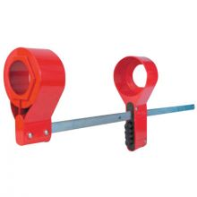 Master Lock S3924 Blind Flange Lockout - Large (6 EA)