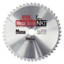 M.K. Morse CSM948NSC 9In 48T Steel Cutting Circular Blade-1In Arbor