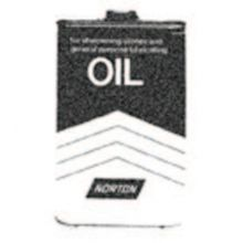 Norton 61463687770 Xb5 1 Pt. Sharpening Stone Oil (10 CAN)
