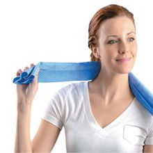 Occunomix 931-BL Miracool Cooling Neck Towel Blue