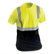 Occunomix LUX-SSETPBK-YXL Xl T-Shirt Black And Yellow