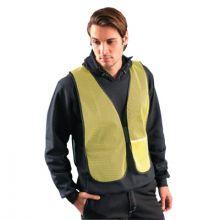 Occunomix LUX-XNTM-Y4X Mesh Non-Ansi Vest No Tape Yellow 4X