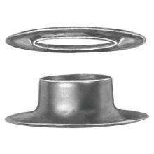 "C.S. Osborne G1-4 1/2"" Brass Grommet & Plain Washer (144 EA)"