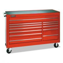 """Proto 456646-12RD Red 12 Drawer Workstation 66X46"""""""