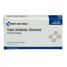 First Aid Only 12-001 Triple Antibiotic Ointment .5 Gm (12 EA)