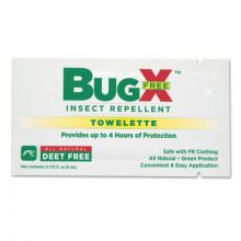 First Aid Only 18-830 Deet Free Insect Repellent Towelette 300 Bulk Pa