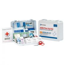 First Aid Only 90560 25 Person First Aid Kit Ansi A   Metal Case