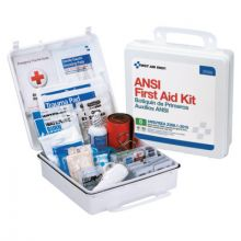 First Aid Only 90566 50 Person First Aid Kit Ansi B  Plastic Case