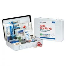 First Aid Only 90567 50 Person First Aid Kit Ansi B   Metal Case