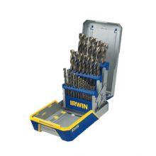 Irwin 3018006B 29 Piece Drill Bit Industrial Set Case Turbomax