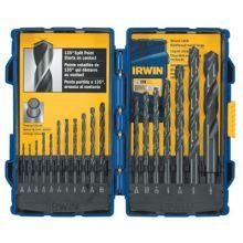 Irwin 314018 18 Piece Black Oxide Drill Bit Set