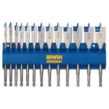 Irwin Speedbor 88887 13 Pc Speedbor Set W/Rac