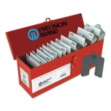 Precision Brand 42920 Size C 4X4 Assorted Slotted Shims
