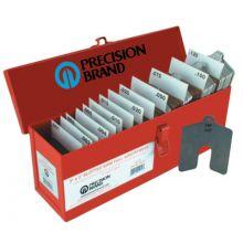"Precision Brand 42975 Size D 5""X5"" Slotted Shim Shop-Kit  W"