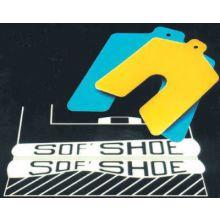 "Precision Brand 49140 Yellow 5""X5""X.045"" Sof Shoe Shim (10 EA)"