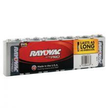 Rayovac AL9V-6J 00044 9V Industrialalkaline Ba (6 EA)