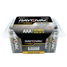 Rayovac ALAAA-18PPJ Ultrapro Alkaline Aaa Pack Reclosable (18 EA)