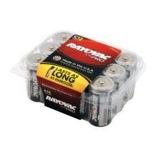 Rayovac ALC-12PPJ C Alkaline Battery Contractor 12-Pack (12 EA)