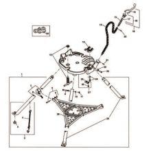 Ridgid 68625 E1789 Chain Link Asm