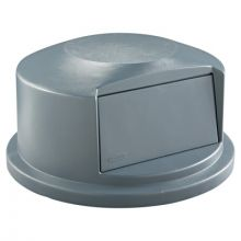 Rubbermaid Commercial 2647-88-GRAY Gray Brute Dome Top For2641 & 2643