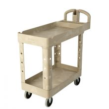 Rubbermaid Commercial 4520-10-BLA Hd Utility Cart 24