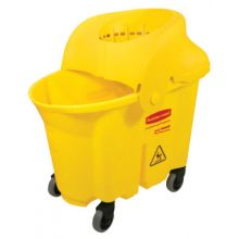 Rubbermaid Commercial 7590-88-Y Wave Brake Institutionalcombo 35 Qt Capacity