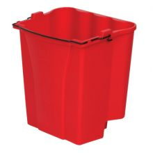 Rubbermaid Commercial 9C74-RED Red 18 Qt Capacity Dirtywater Bucket