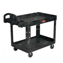 Rubbermaid Commercial FG452089BLA Heavy Duty Utility Cart500 Lb Load Capacity