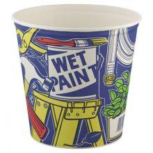 Solo 5T1UU 83 Oz Paper Bucket Unwaxed/Unprinted (100 EA)