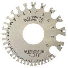L.S. Starrett 51318 283 U.S. Standard Gage N