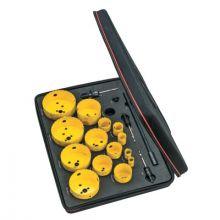 L.S. Starrett KDC15061-N Dch Industrial Kit W/15Holesaws And 5 Acc