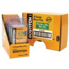 Bostitch PT-2330-3M 23Ga Headless Pin-1-3/16I- 3000/Box (60 BX)