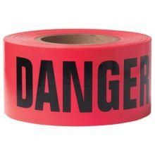 Presco B3103R21 Danger- Red 3Mil (8 RL)