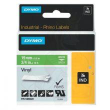 "Dymo/Rhino 1805420 Rhino 3/4"" Green Vinyl (White Print)"