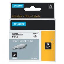 "Dymo/Rhino 18057 Rhino 3/4"" White Heat Shrink Tubes (1 EA)"