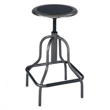 Safco Products Company SAF-6665 Stool-High Base-Bk