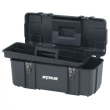 "Waterloo PP-2009BK 20"" Plastic Tool Box - Black"